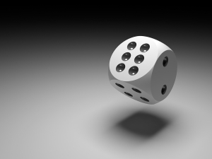 bigstockphoto_dice_in_black_22983611